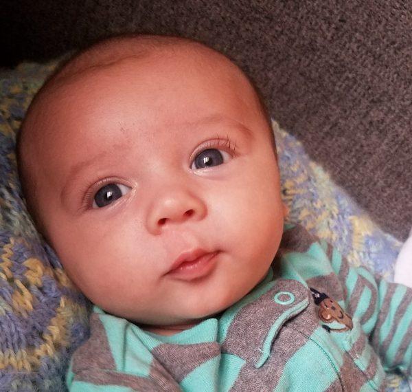 A Conexus team member's baby