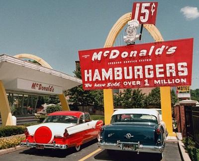 The original McDonald's logo