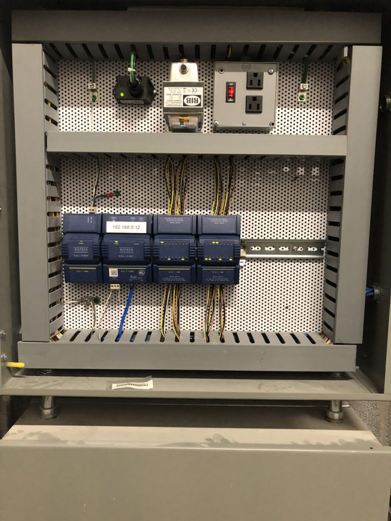 Building intelligence system installed by the Conexus team